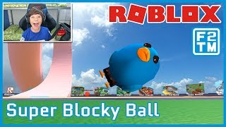 Roblox Super Blocky Ball | Fraser2TheMax | Roblox Kid Gaming
