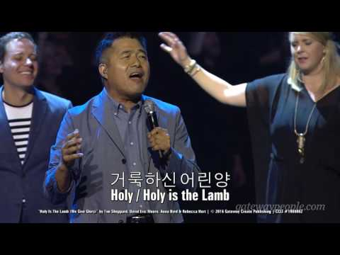 International Worship Leaders sing Holy Is The Lamb