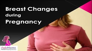 Breast Changes during Pregnancy : 5 tips for breast care