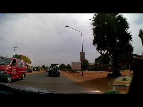 Kololi to Banjul International Airport, The Gambia (31/01/2018) (Dashcam)