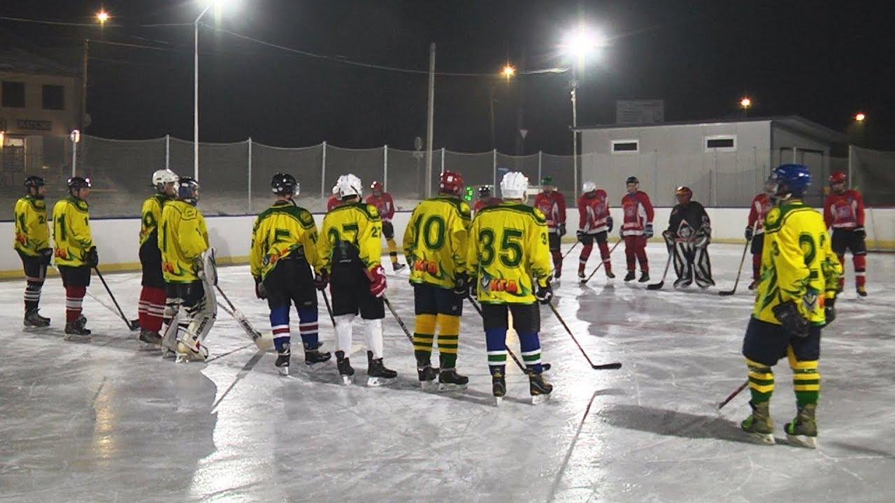 У Коломиї грали в хокей