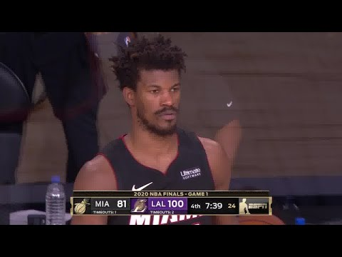 Jimmy Butler Full Play | Heat vs Lakers 2019-20 Finals Game 1 | Smart Highlights