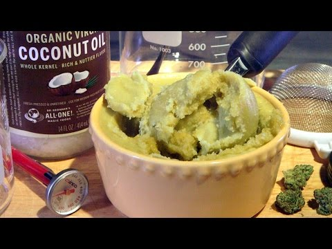 How To Make Cannabis Coconut Oil (Decarboxylated Canna-Oil): Cannabasics #25