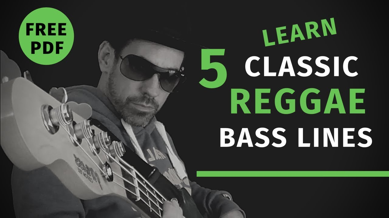 Download No.60 Learn Five Classic Reggae Bass Lines