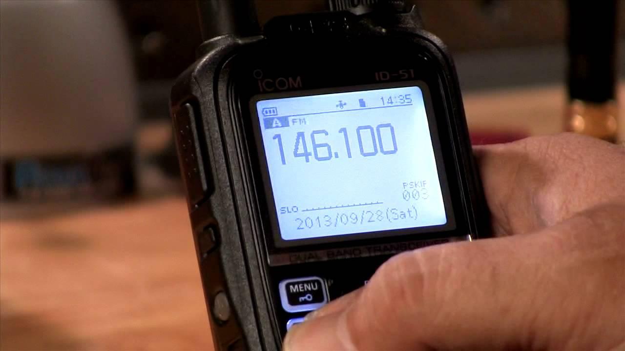 Icom's ID-51A review on AmateurLogic TV