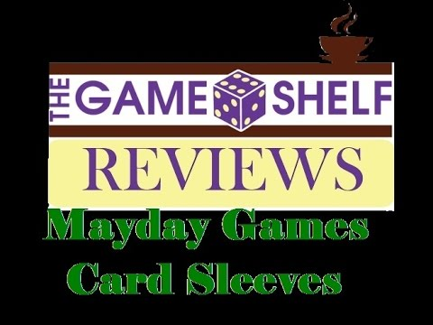 Mayday Games Card Sleeves: The Official Card Sleeve of The Game Shelf