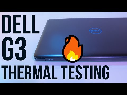 Dell G3 Thermal Testing - Undervolting and Overclocking - YouTube