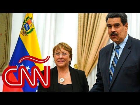 Esto dijeron Bachelet y Maduro tras visita de la alta comisionada a Venezuela