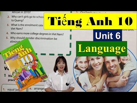 Tiếng Anh lớp 10 Unit 6 Language – Gender Equality / HeartQueen Quyên Hoàng