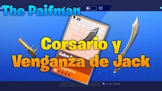 ✔JACK'S CORSARIO AND VENGANZA Guide✔ (Fortnite Save the World)[Combined TOP Weapons]