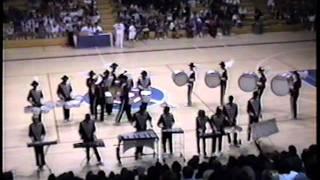 Arvin High School Music Department 1992 Percussion Winterguard Flight Over Rio