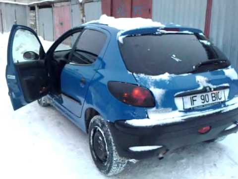 peugeot 206 tail lights - youtube