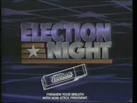 CNN Election Night 1984
