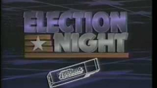 CNN Election Night 1984
