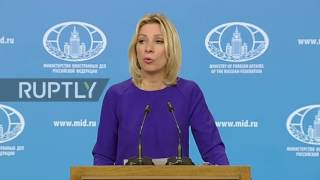 Russia  'Attempts to delay or postpone Syrian peace talks are unacceptable'   Zakharova