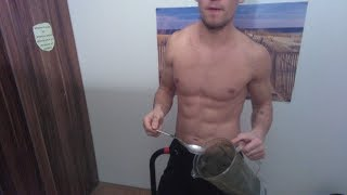 """Raw Vegan """"Full day of Eating"""" on a low Budget!! // Full body home workout"""