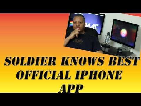 Soldier Knows Best Official IPhone App (Full Review)