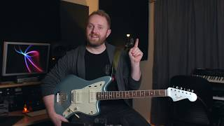 BASICS: What Does a Fender Jazzmaster Sound Like? (American Vintage 1965 Jazzmaster Demo)
