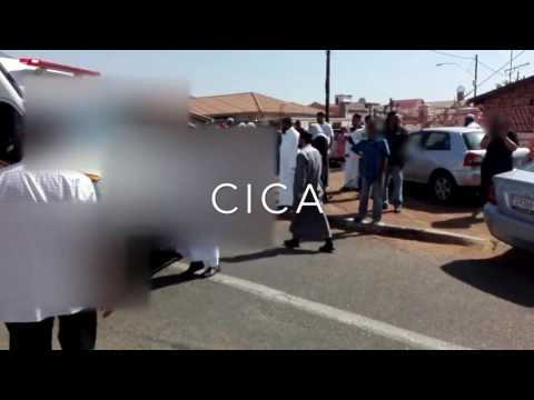 Shootout between community & armed robbers in Johannesburg after armed home invasion & hostage