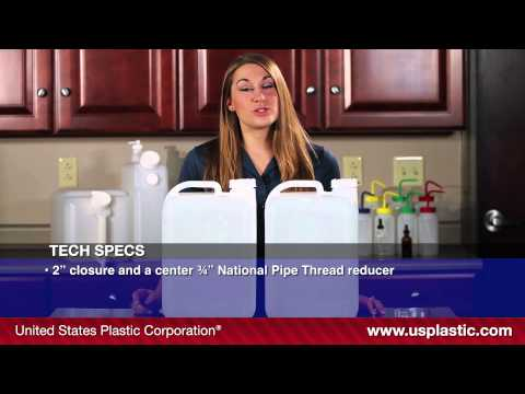 5 GALLON UN APPROVED PLASTIC CARBOYS | U.S. Plastic Corporation® | Product Spotlight