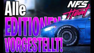 So spielst du NFS Heat früher | Alle Versionen von Need for Speed Heat vorgestellt | Deutsch German