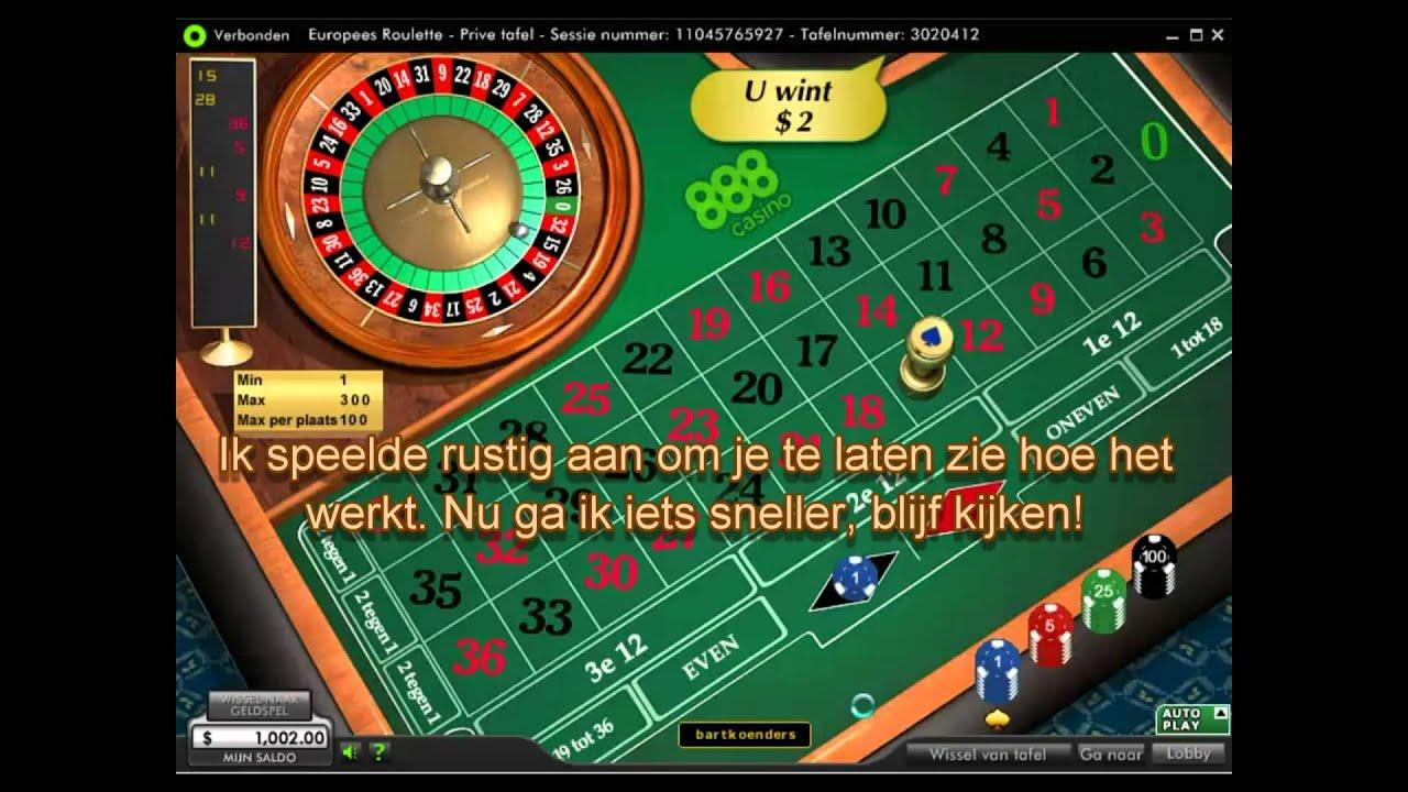 De beste roulette strategie - win altijd van online casino ...