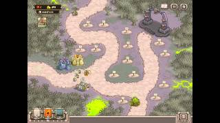 Kingdom Rush HARD DIFFICULTY- Rotten Forest HEROIC on iPad