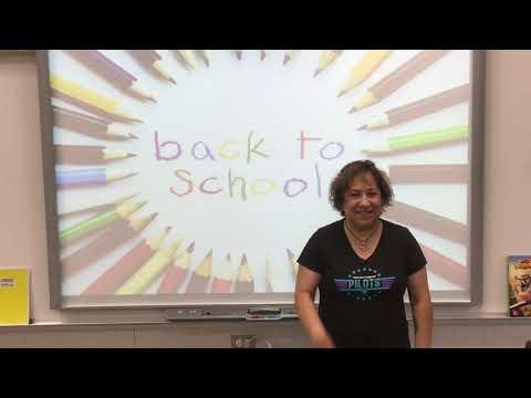 Pauba Valley Elementary school 4th Grade 2020 Back to School Video