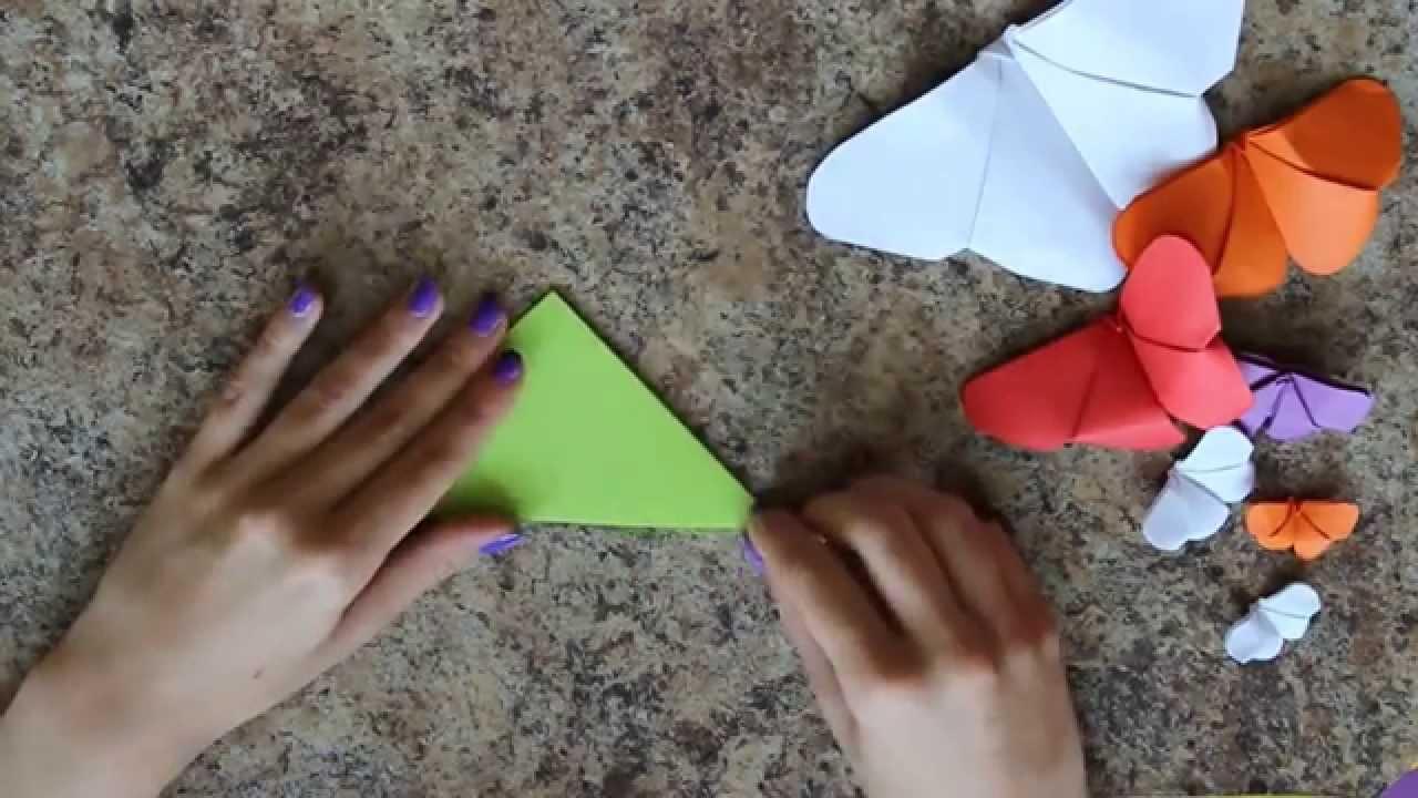 Jak zrobić kirigami: motylek