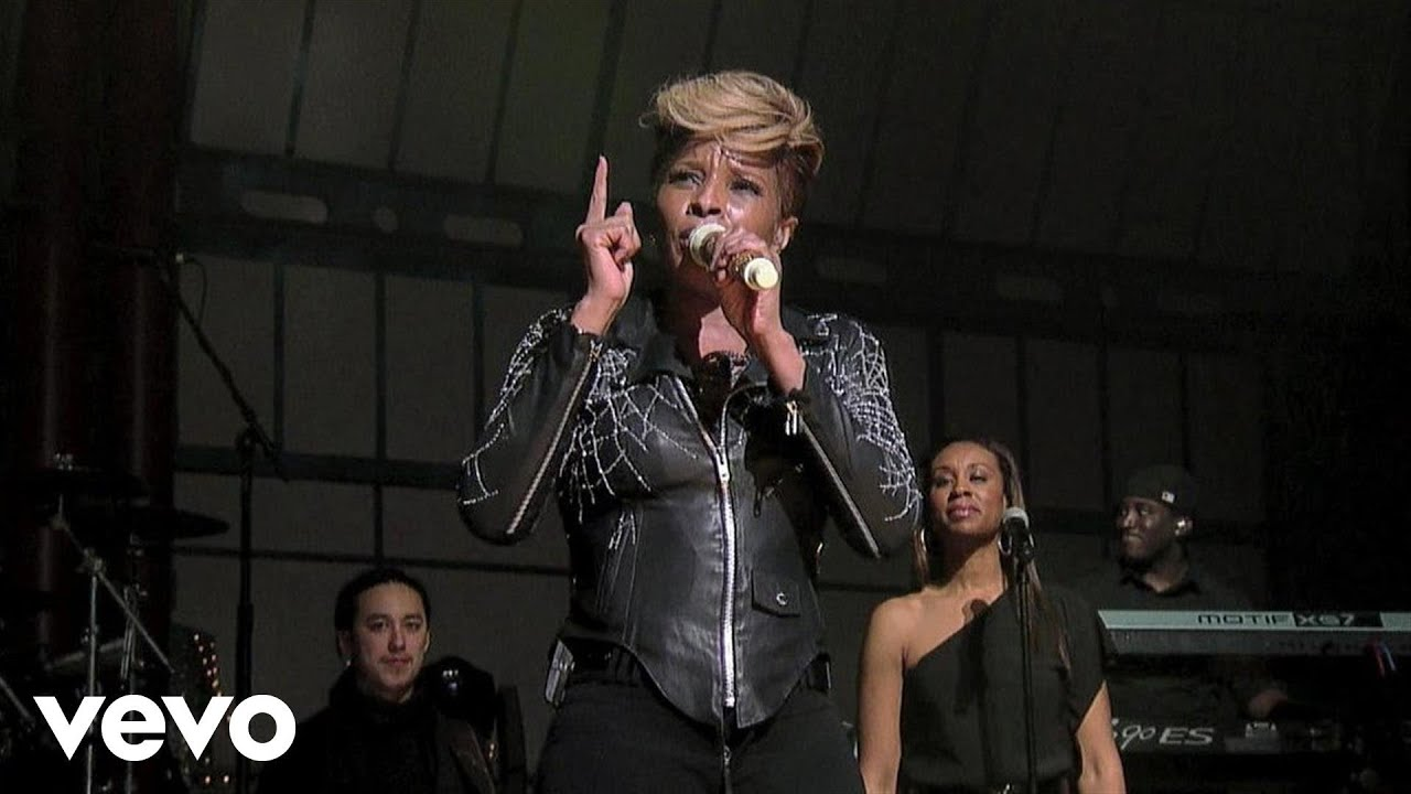Mary J. Blige - Good Love (Live on Letterman)