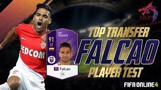 FO4 review   Mãnh hổ Falcao TT (Top transfer) và sơ đồ 4-1-4-1