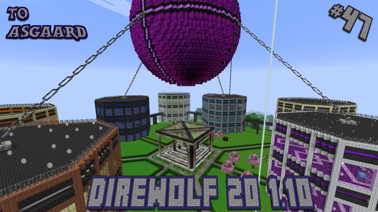 Direwolf 20 1 10 Let's Play Ep  47: Item Routing and a Ritual