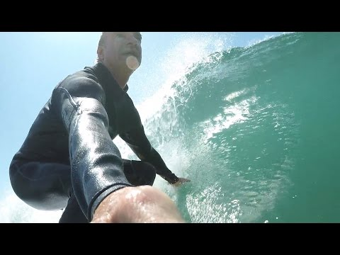NEW SURFING SELFIE CAM - California