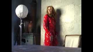 Making of VOGUE Italy featuring Robin Wright