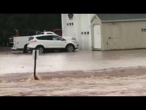 Flooding in Fredricksburg, Lebanon County