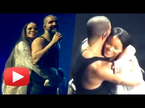 OMG! Rihanna & Drake PDA On Stage