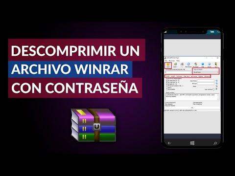 Descomprimir un Archivo Winrar con Contraseña - Extraer RAR O ZIP Fácil y Rápido