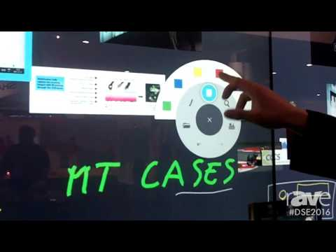 DSE 2016: Multitaction Showcases MT Canvas Collaboration for Solution for Big Data