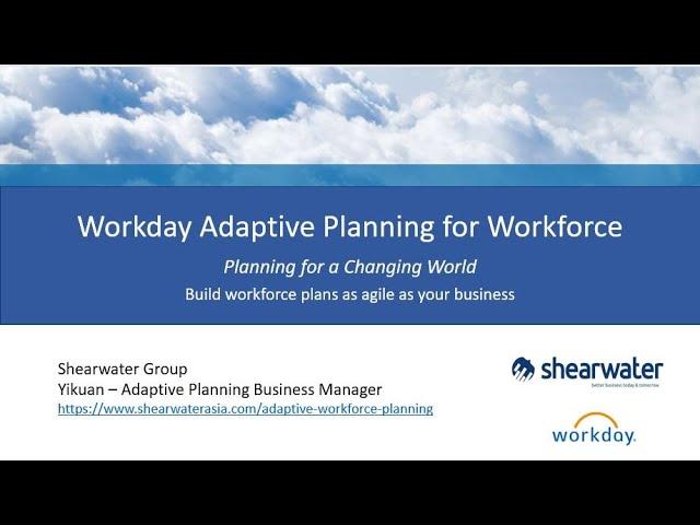 Workforce planning webinar!