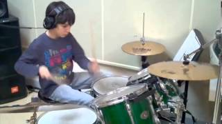 Lucas drums cover of  Bruno Mars locked out of heaven (instrumental version)