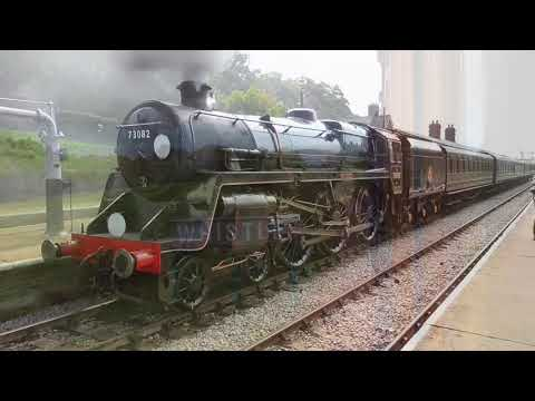 Bluebell Railway Whistle compilation April-August 2017