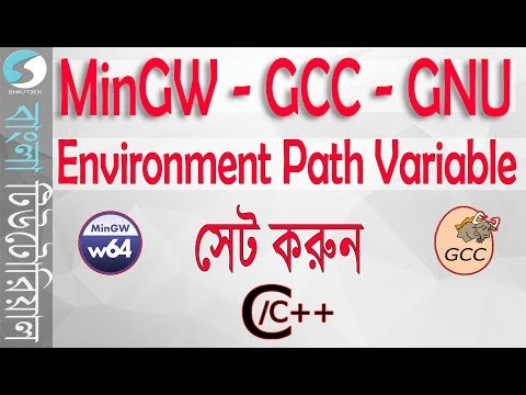 Install and set MinGW/GCC & set environment variables in Windows for C/C++