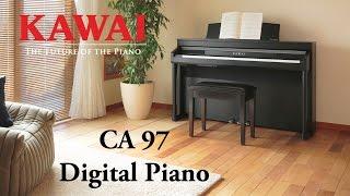 KAWAI CA97 Digital Piano DEMO - ENGLISH