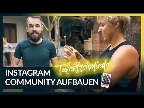 COMMUNITY AUFBAUEN AUF INSTAGRAM 📱 Step by Step auch von 0 Followern   Talentschmiede #16