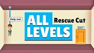 Rescue Cut Rope Puzzle - All Levels screenshot 2