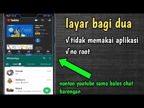 Cara Membagi Layar Jadi Dua Di Hp Vivo Layar Split Screen Buka 2 Aplikasi Dlm 1 Waktu Youtube