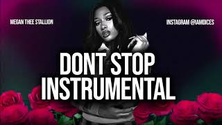 """Megan Thee Stallion """"Dont Stop"""" ft. Young Thug Instrumental Prod. by Dices *FREE DL*"""
