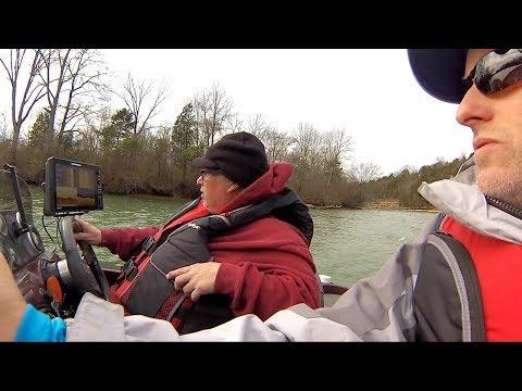 Blade Bait Fishing On The Stones River! - Jan. 2019