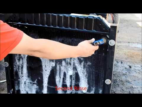 Dirty Radiator Cleaning Condensed
