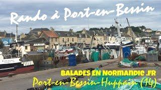 Randonnée à Port-en-Bessin (14)